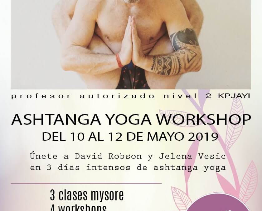 Ashtanga Yoga Workshop ¡David Robson y Jelena Vesic en Tenerife!