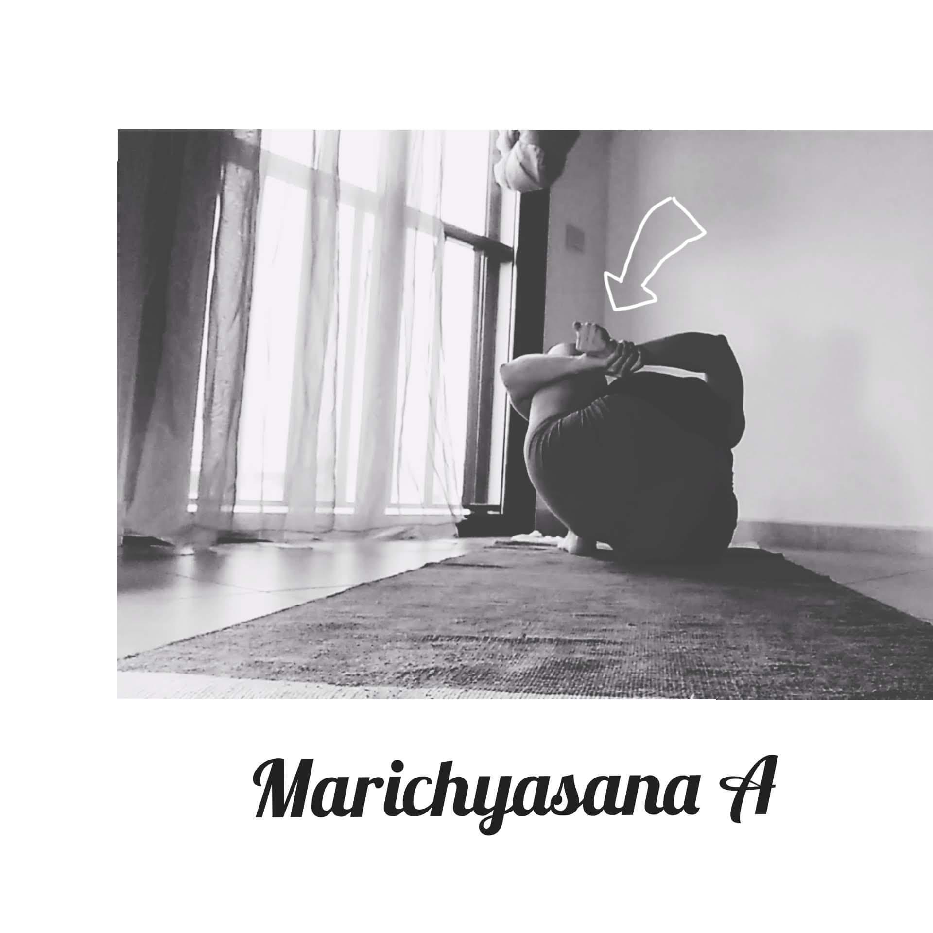 marichyasana a