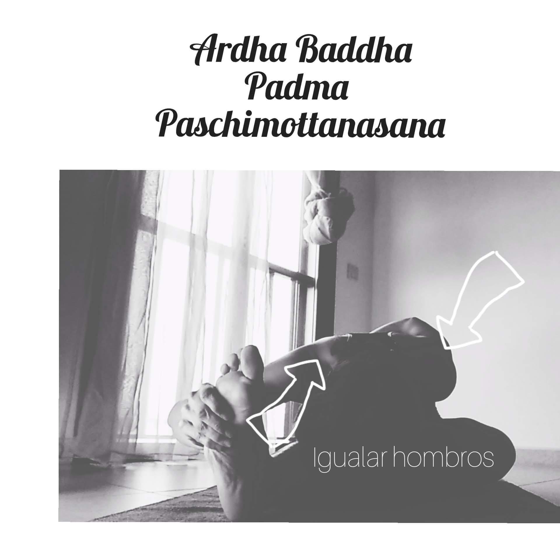 Ardha Baddha Padma Paschimottanasa
