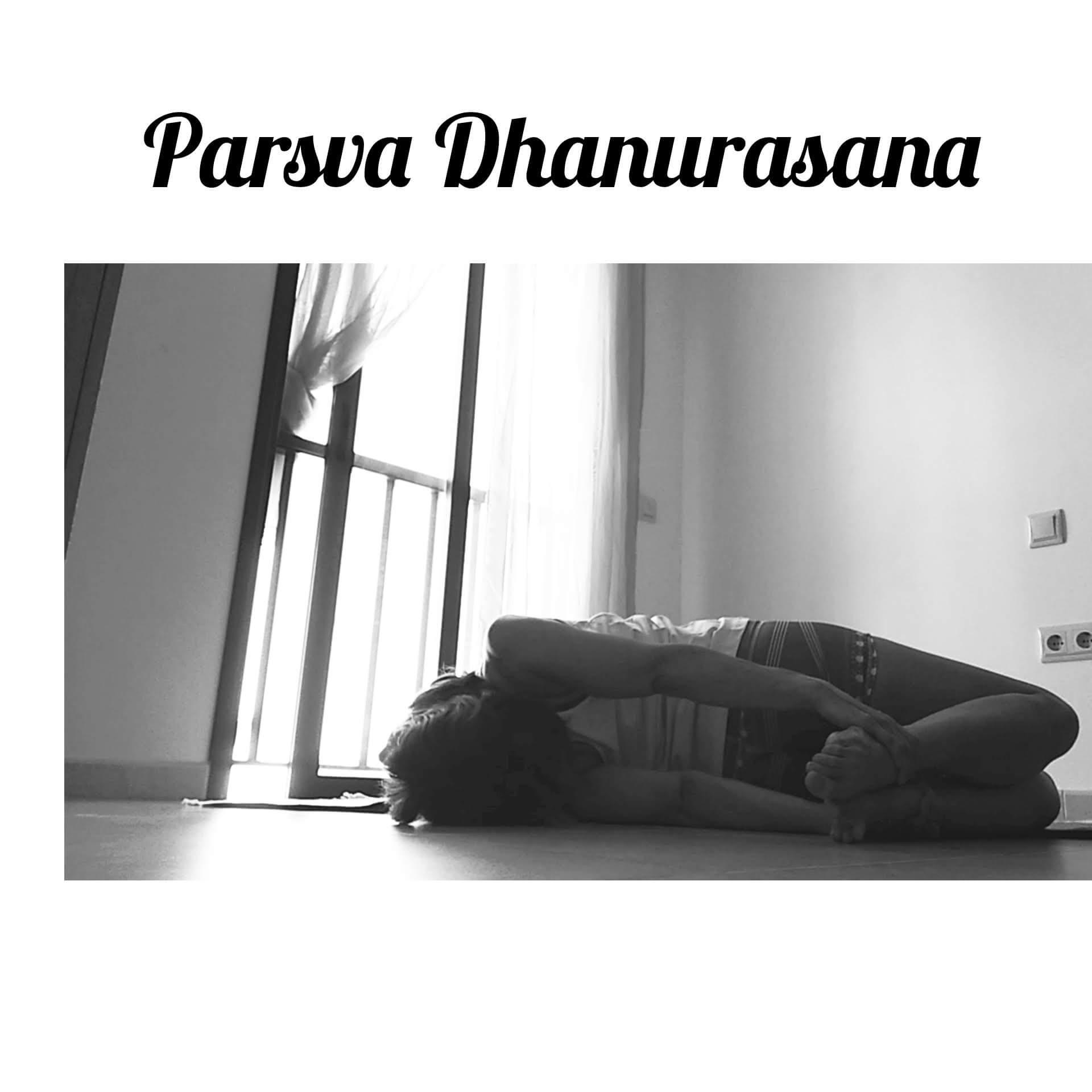 Parsva Dhanurasana.