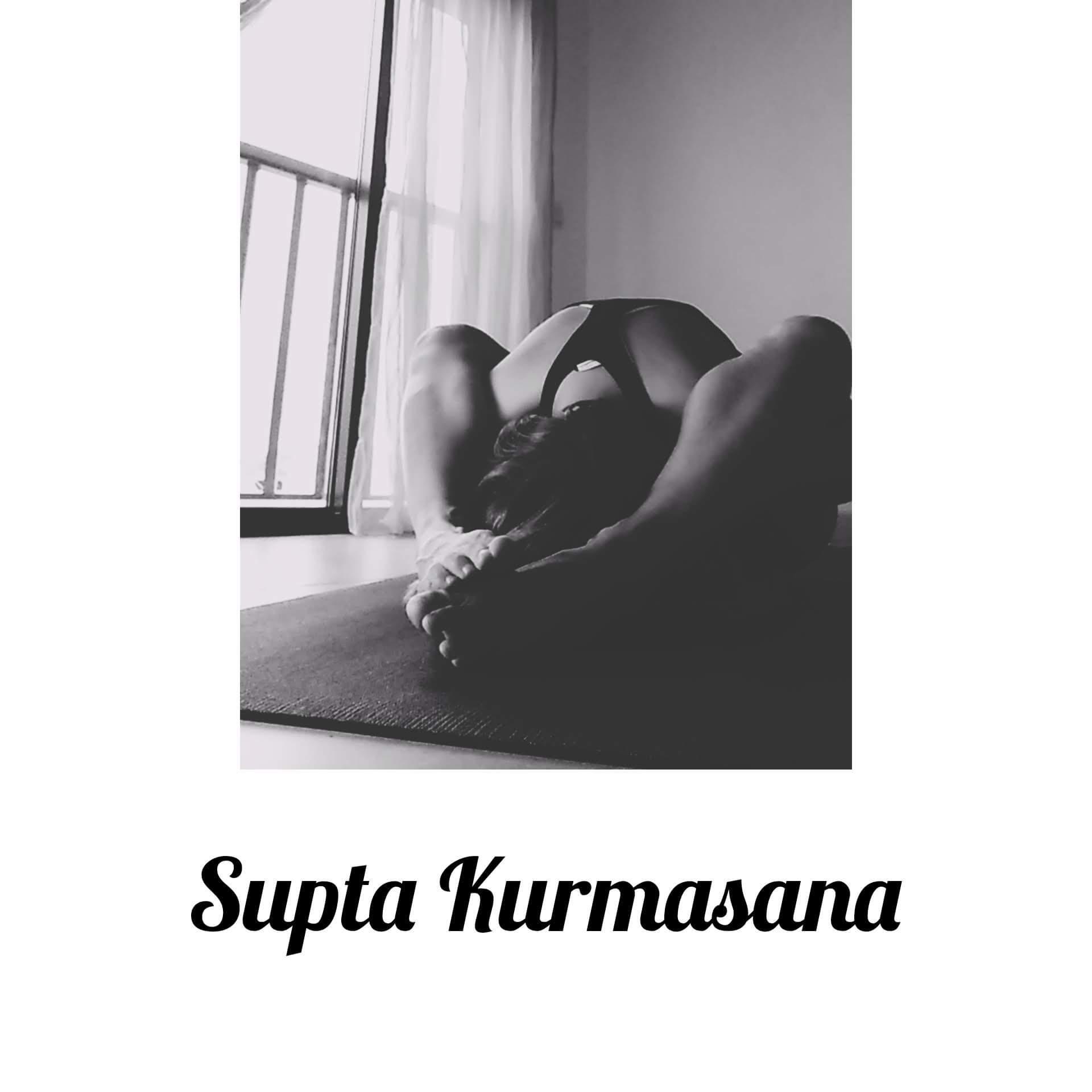 Supta Kurmasana