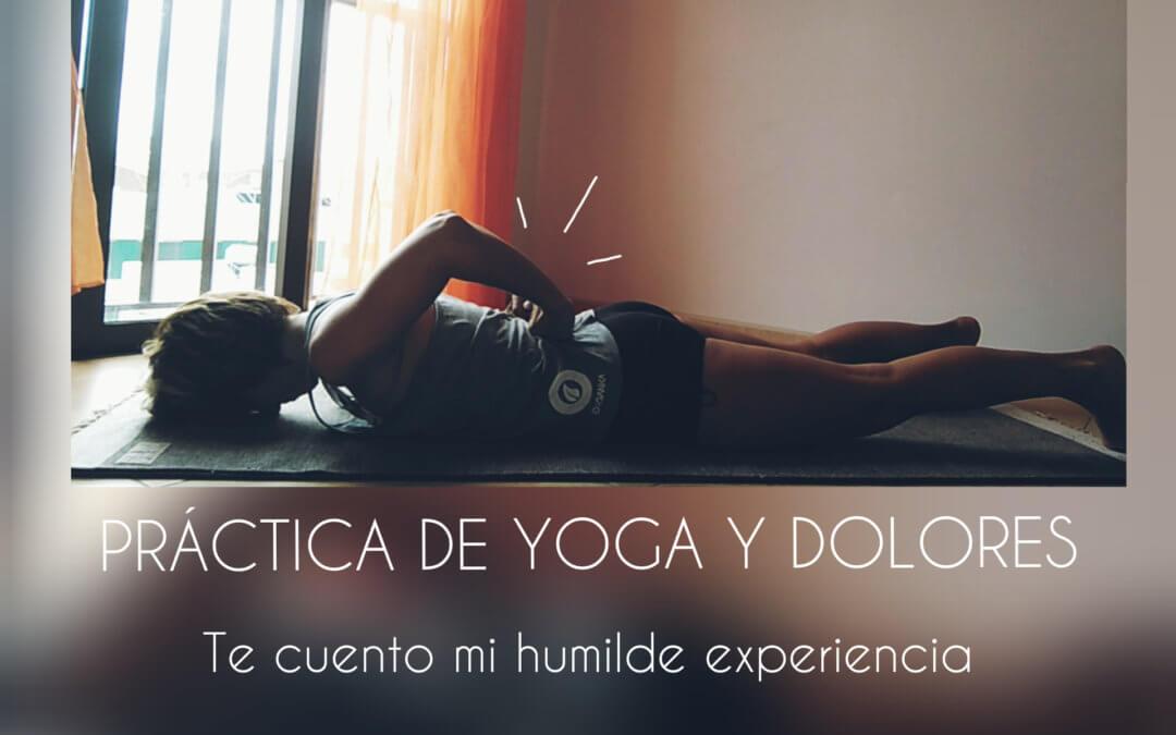 Práctica de Yoga y dolores